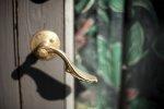 drzwi, klamka