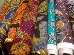 kolorowe tkaniny